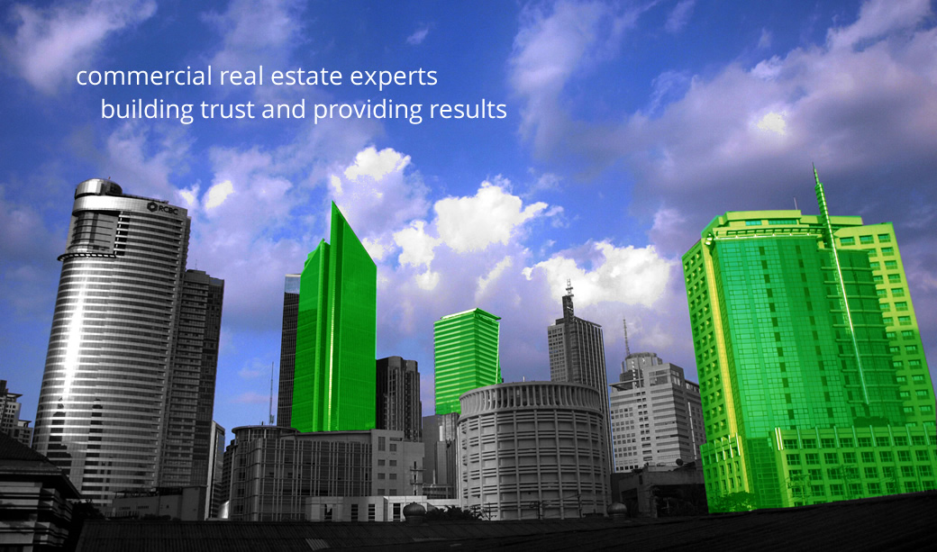 commercial real estate experts. building trust and providing results.